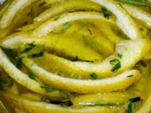 herbed lemon oil