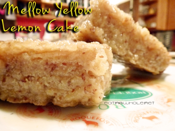 Mellow Yellow Lemon Cake