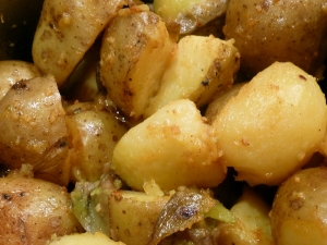 finished potatoes