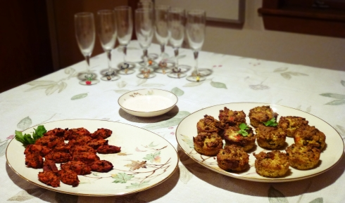 Vegan Finger Food Dinner party