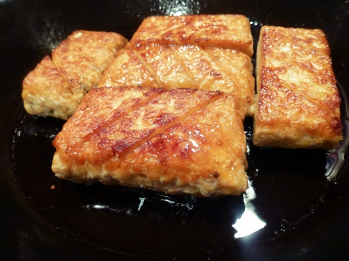tempeh cooked
