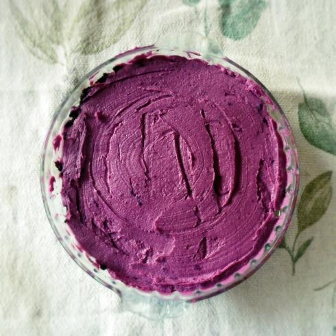 purple passion cheesecake