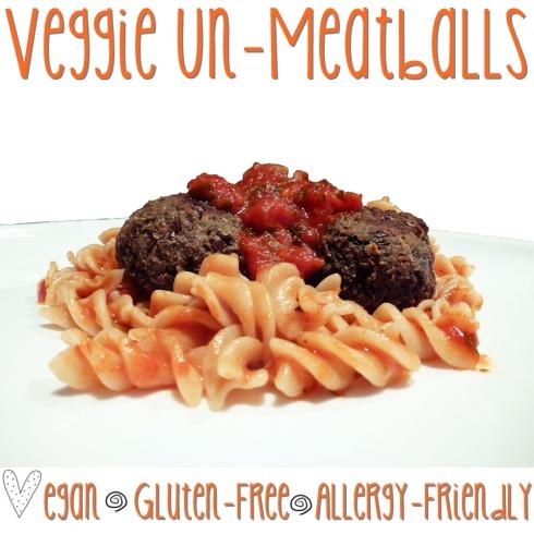 veggie un meatballs