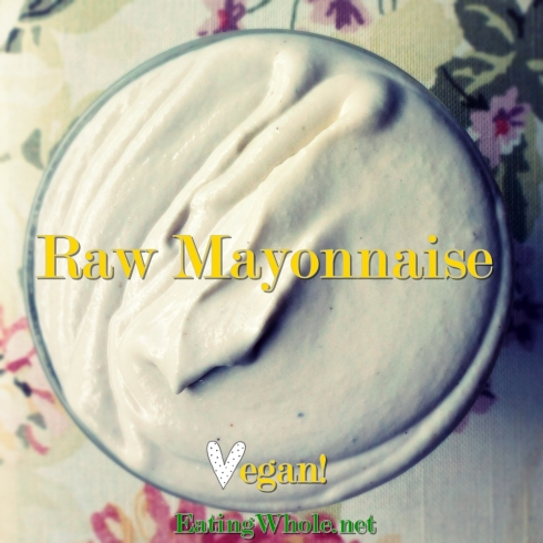 Vegan mayonnaise
