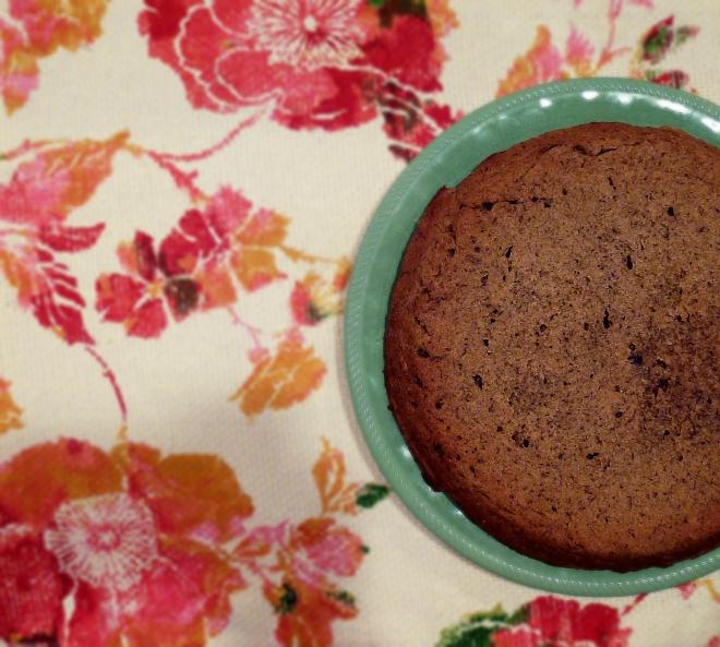 baked cake