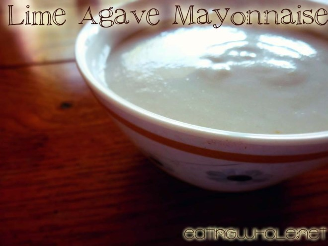 lime agave mayo