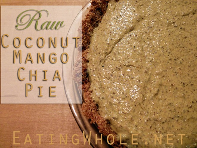 pie title