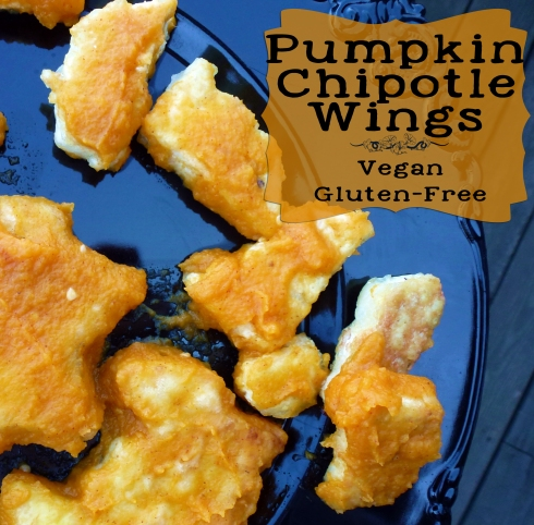 pumpkin chipotle wings