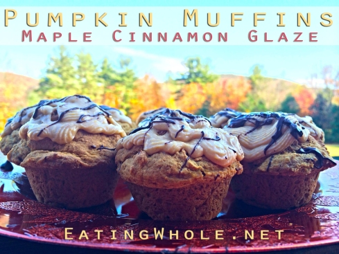 pumpkin spice muffins spiced buttercream title