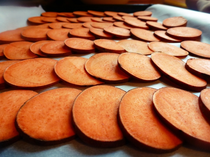 sweet potatoes, prebaked