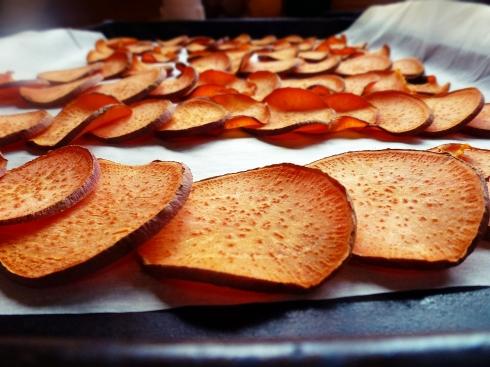 sweet potatoes, baked