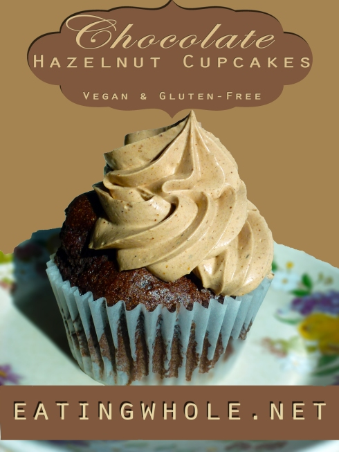 chocolate hazelnut cupcake