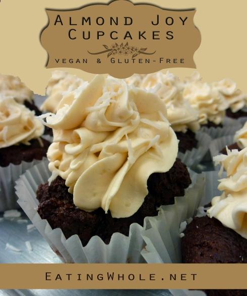 almon joy cupcake