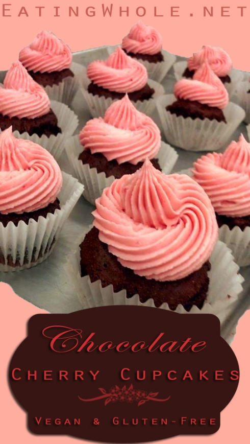 choc cupcake cherry buttercream title