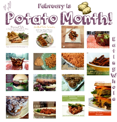 potato month label