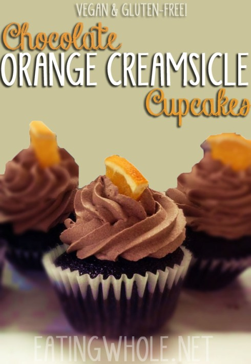 chocolate creamsicle cupcake title